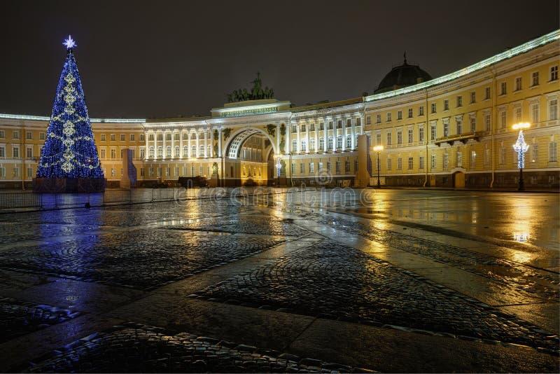 Pałac kwadrat zdjęcie stock