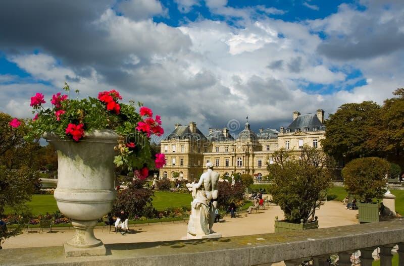 pałac luxembourg fotografia royalty free