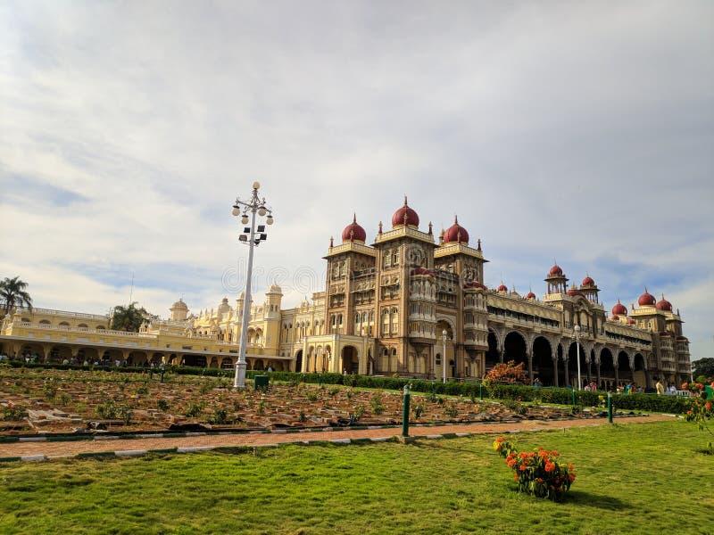 Pałac Mysore w Mysuru India zdjęcia stock
