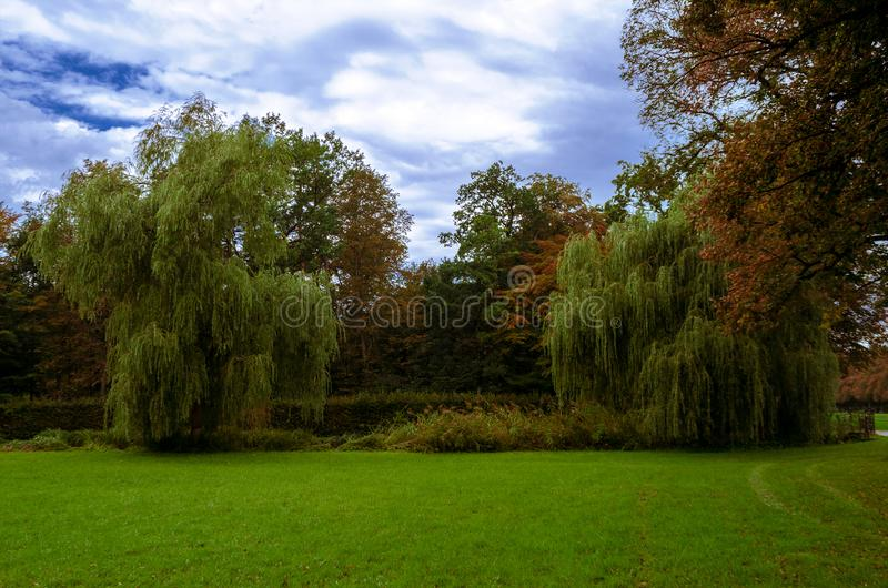 Pałac ogrodowy naturalny obrazy royalty free