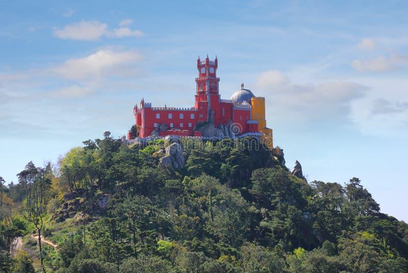 pałac pena Portugal sintra zdjęcie stock
