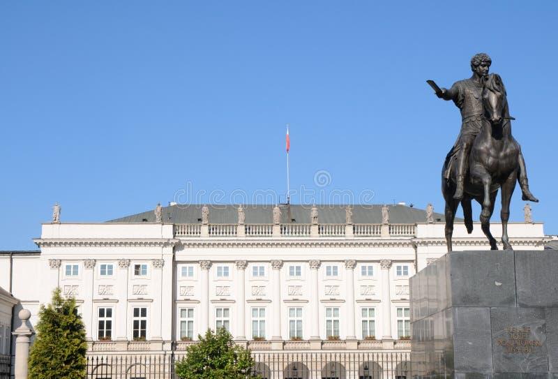 pałac Poland prezydencki Warsaw obrazy stock