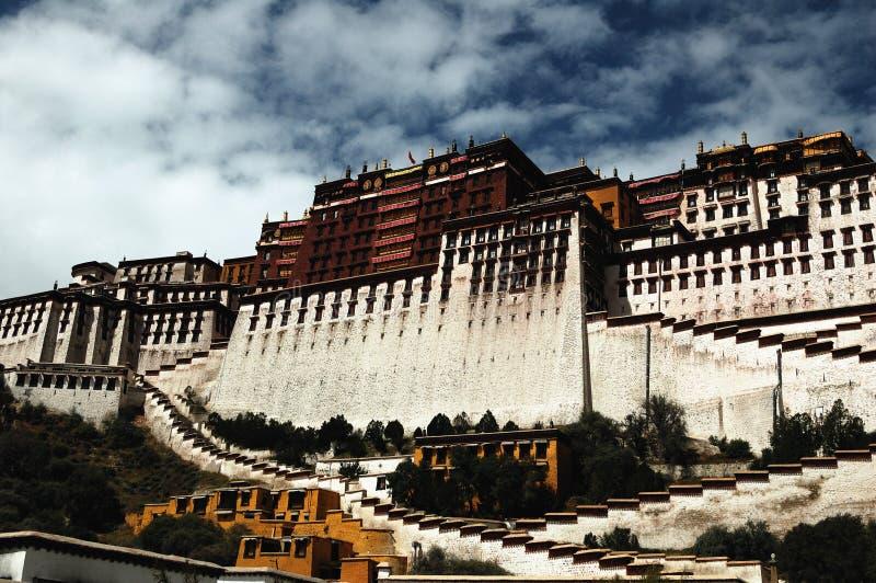 pałac potala Tibet obraz stock