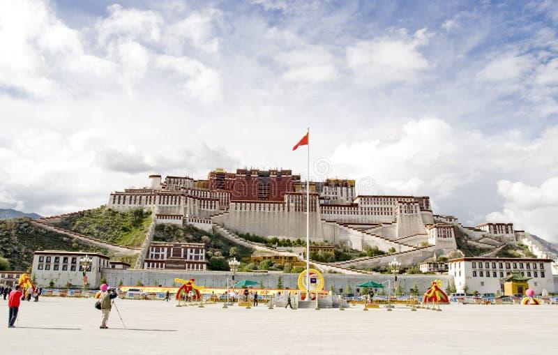 pałac potala Tibet zdjęcie royalty free