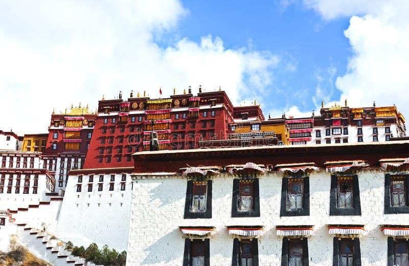 pałac potala Tibet zdjęcie stock