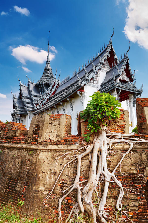 pałac prasat sanphet Thailand zdjęcia royalty free