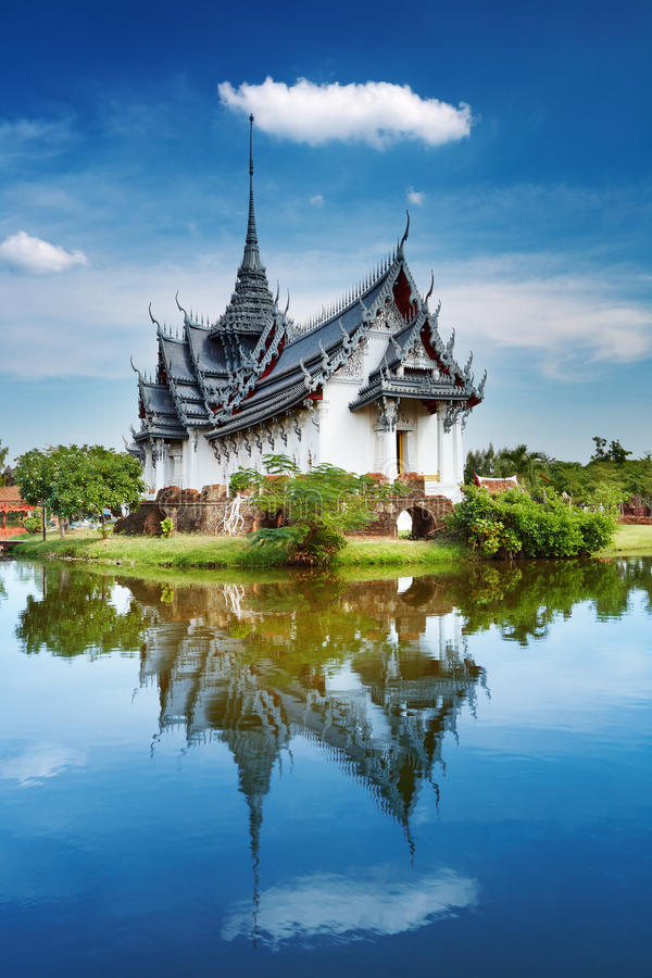 pałac prasat sanphet Thailand obrazy royalty free
