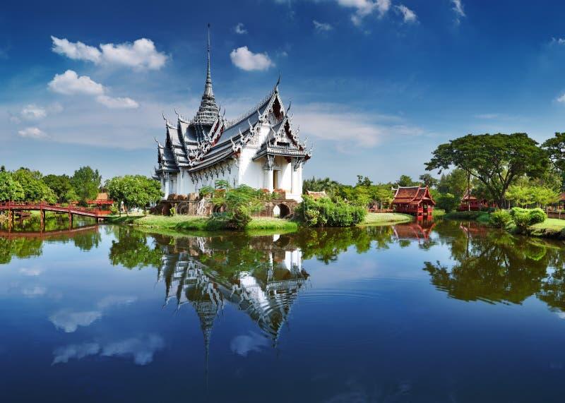pałac prasat sanphet Thailand fotografia royalty free