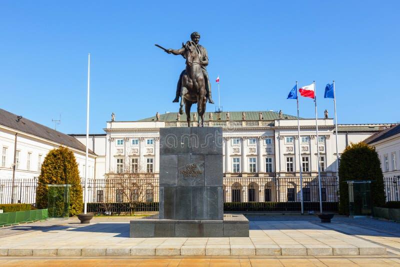pałac prezydencki shine obrazy stock