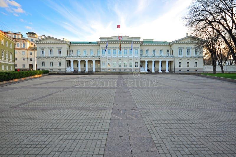 pałac prezydencki Vilnius obraz stock
