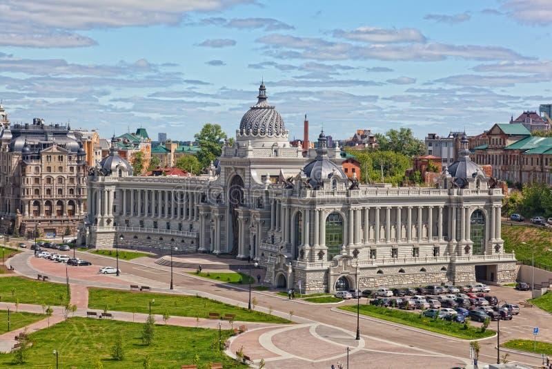 Pałac rolnicy w Kazan obrazy stock