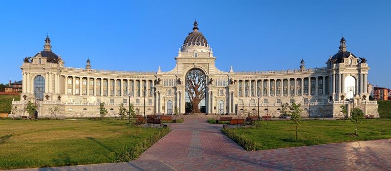 Pałac Rolnicy w Kazan, Republika Tatarstan zdjęcia stock