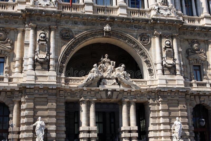 Pałac sprawiedliwość, Rzym, Włochy zdjęcie royalty free