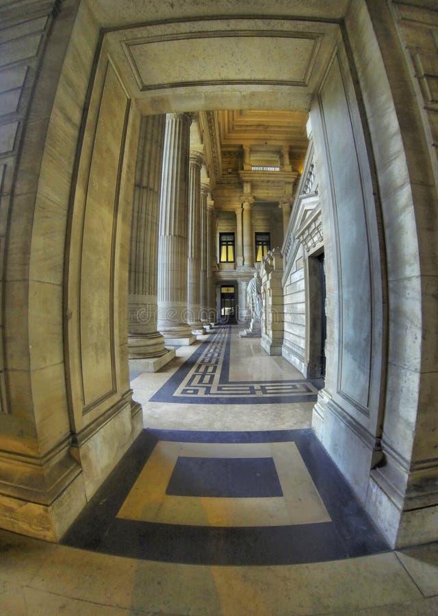 Pałac sprawiedliwość w Bruksela, Belgia zdjęcie stock