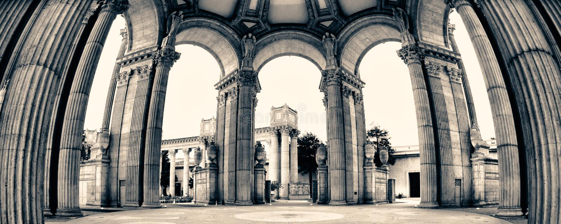 Pałac Sztuka Piękna fotografia stock