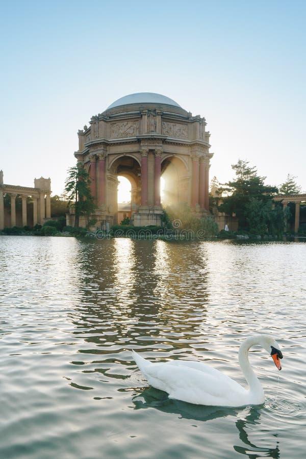 Pałac sztuki piękna w Marina okręgu San Fransisco, obrazy stock