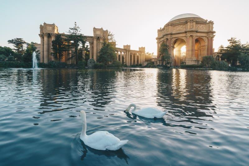 Pałac sztuki piękna w Marina okręgu San Fransisco, obrazy royalty free