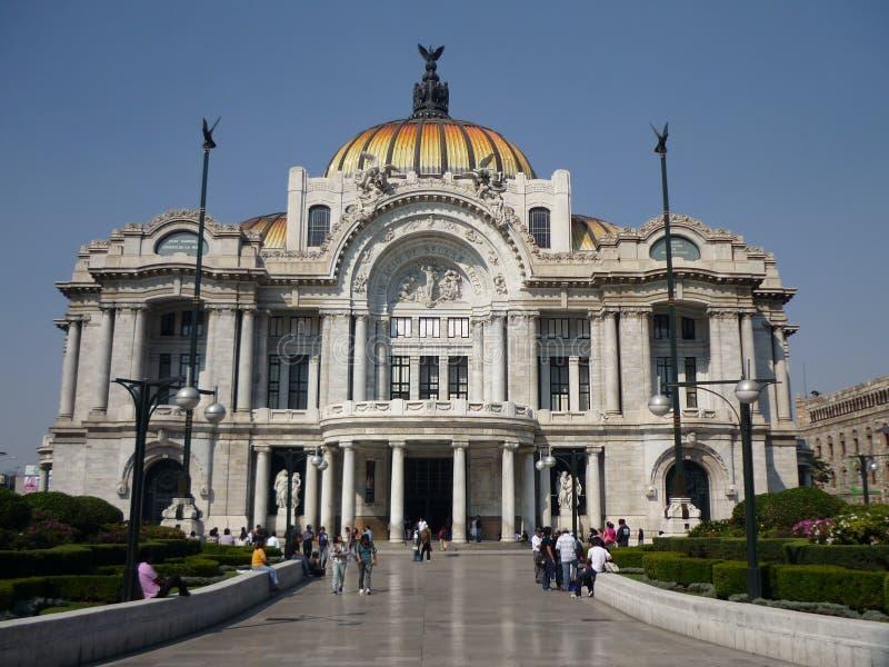 Pałac sztuki piękna w Meksyk obrazy stock