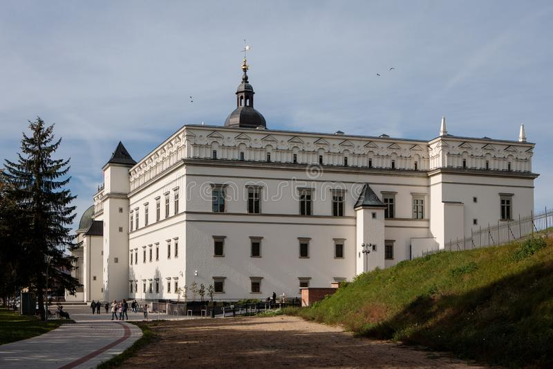 Pałac Uroczyści diucy Lithuania obraz stock