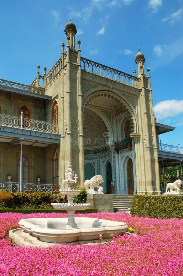 pałac vorontsov s obraz stock