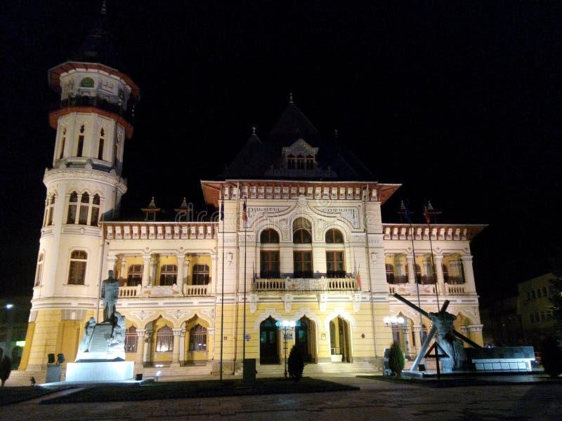 Pałac w Buzau zdjęcie royalty free