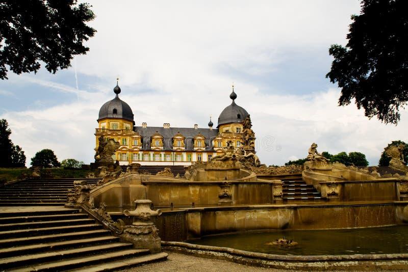 Pałac w Niemcy Seehof obraz royalty free