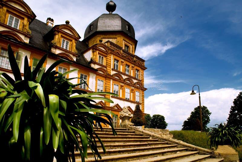 Pałac w Niemcy Seehof zdjęcie stock