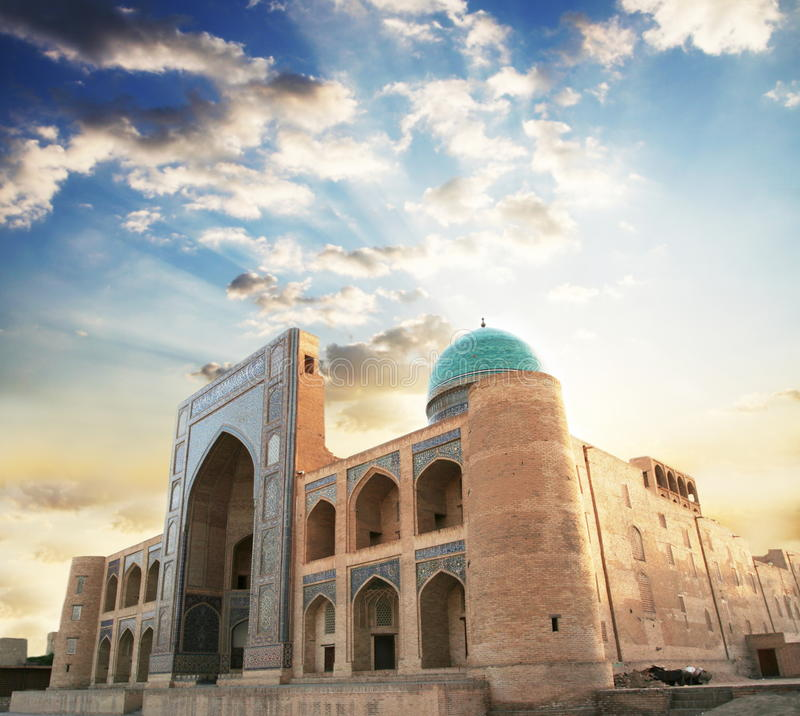 pałac w Samarkand obrazy royalty free