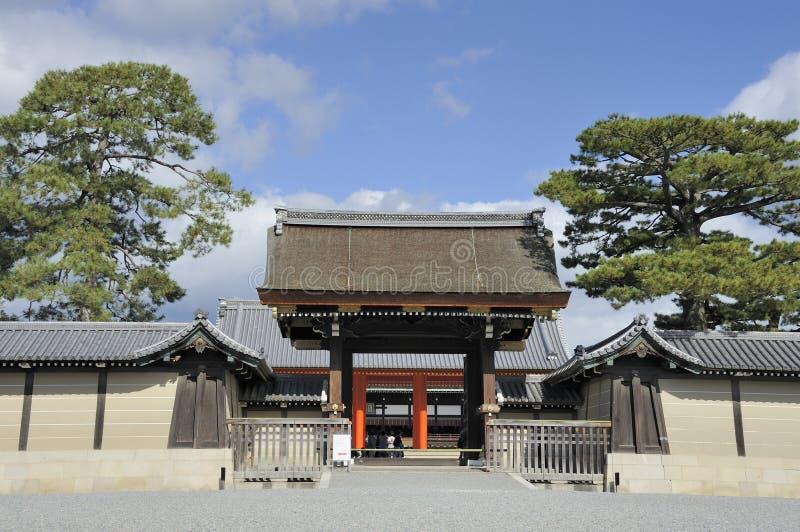 Pałac Wejściowa brama Kyoto obrazy stock
