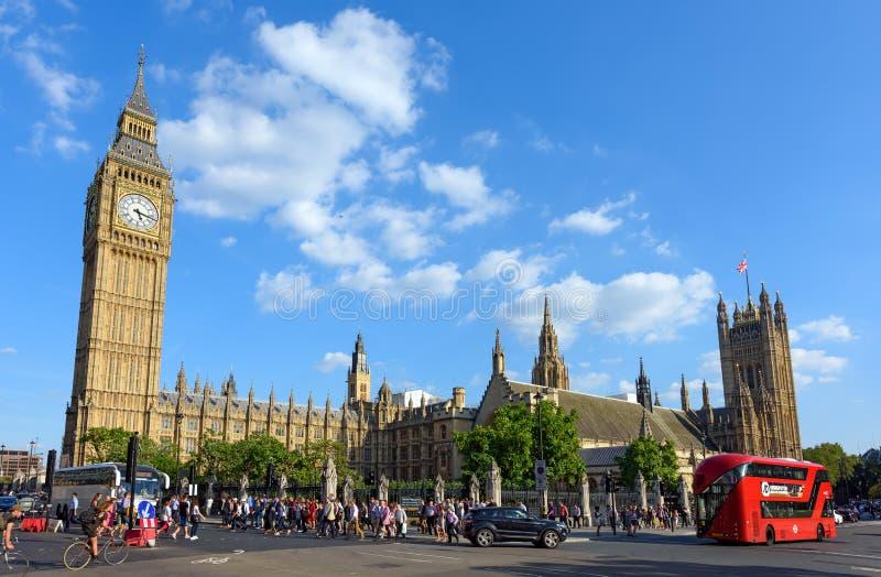 pałac Westminster Londyn, Anglia zdjęcia royalty free