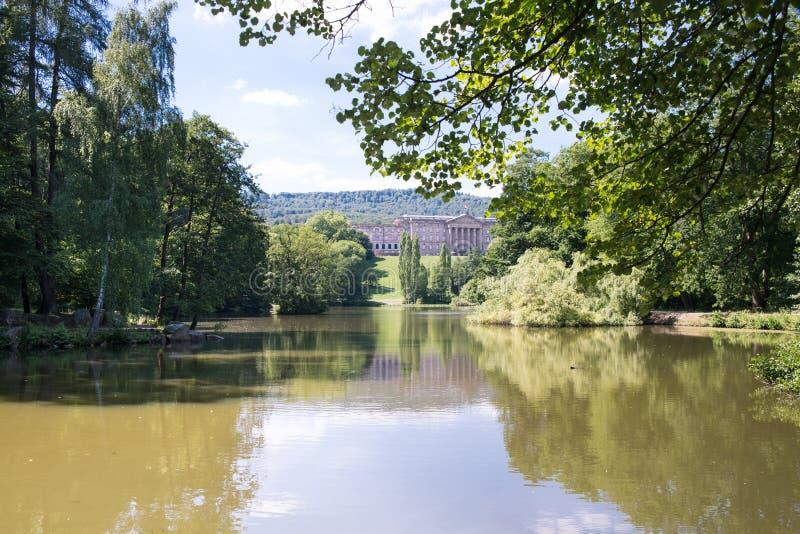 Pałac Willhelmshohe w Kassel zdjęcia royalty free