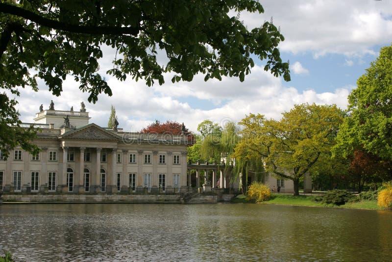 pałac wody obrazy royalty free