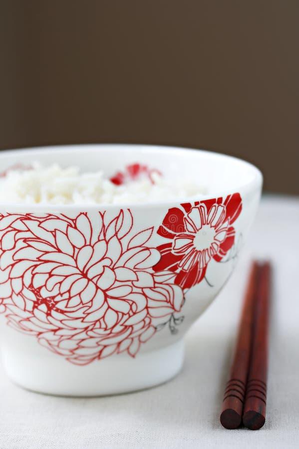 pałeczki misek ryżu obraz stock