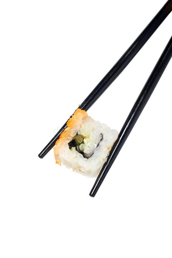 pałeczki sushi obraz stock