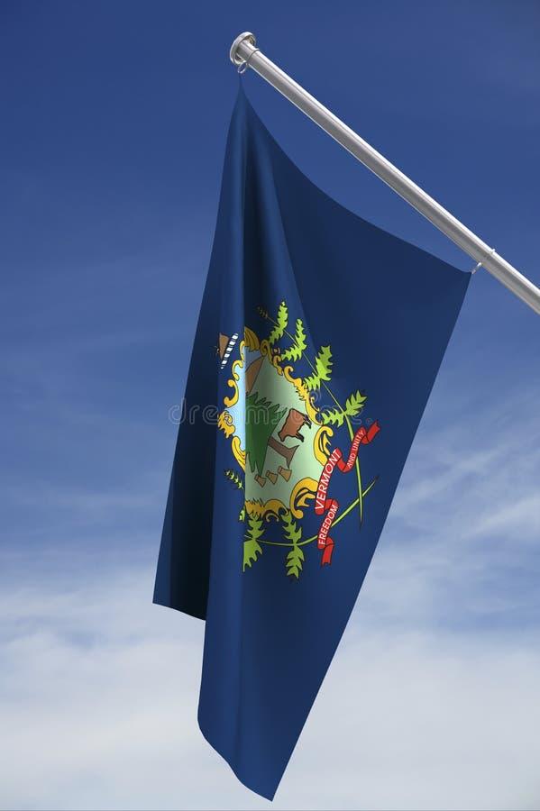 państwo bandery Vermont ilustracja wektor