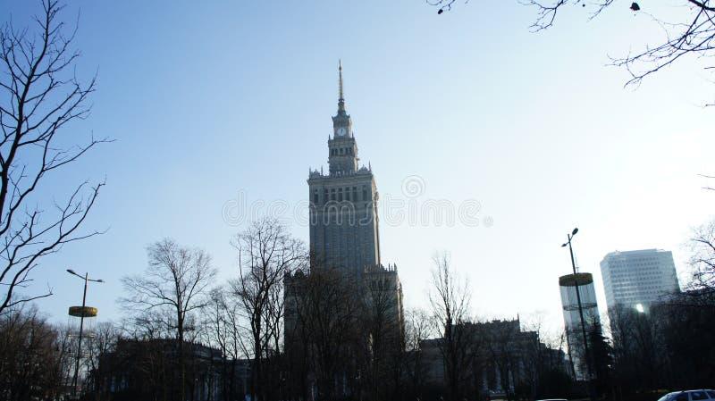 Download Pałac Kultura W Warszawskim Polska Obraz Stock Editorial - Obraz złożonej z budowa, international: 106902119