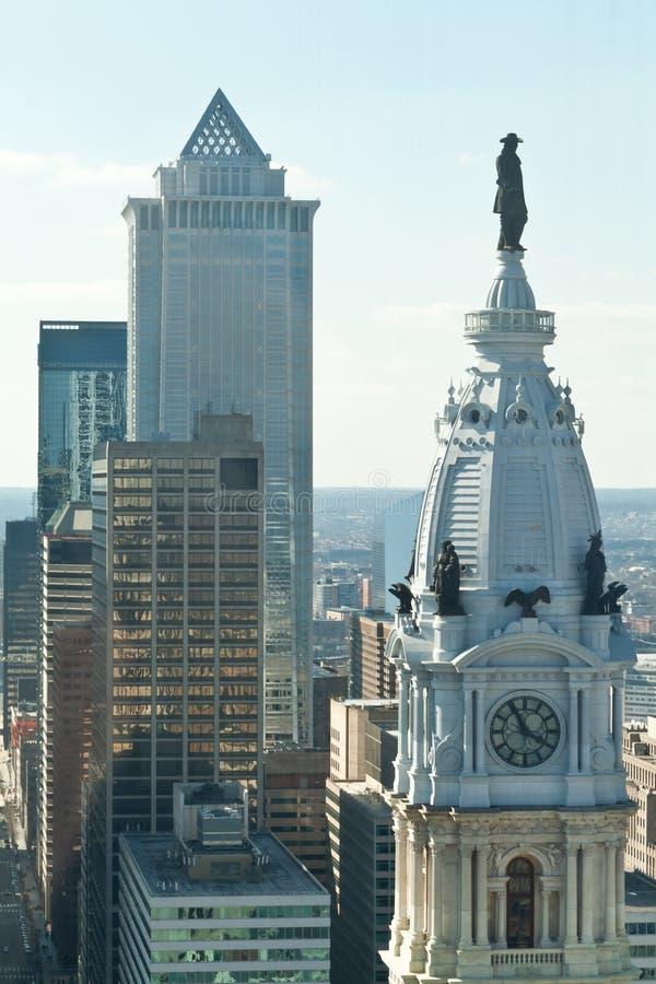 PA de ayuntamiento de la estatua de Guillermo Penn Philadelphia imágenes de archivo libres de regalías