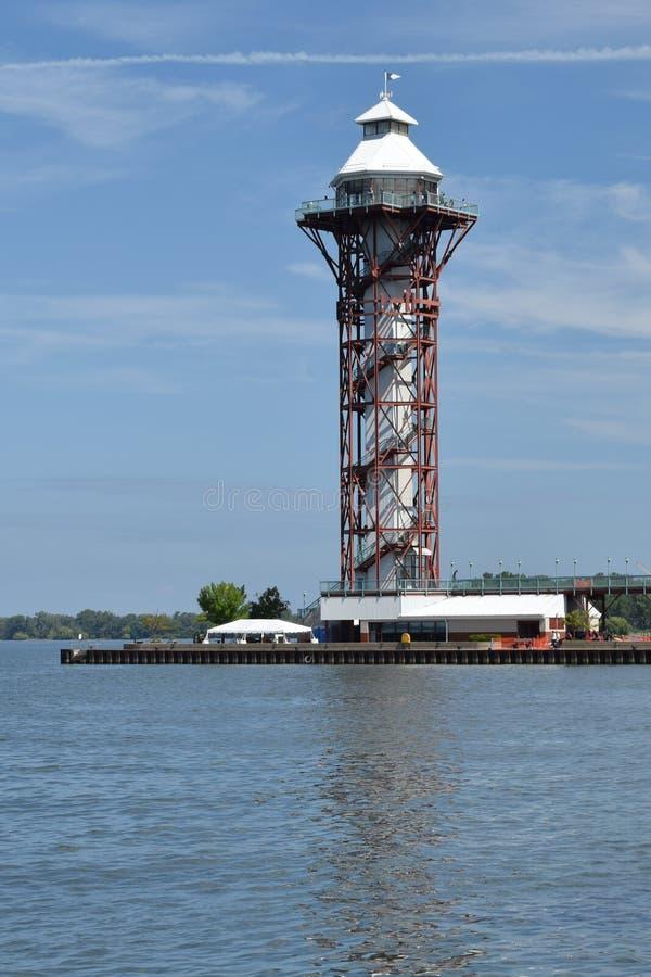PA de Erie da torre de observação imagens de stock royalty free