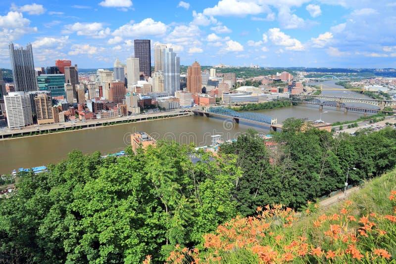 PA de Pittsburgh imagen de archivo libre de regalías
