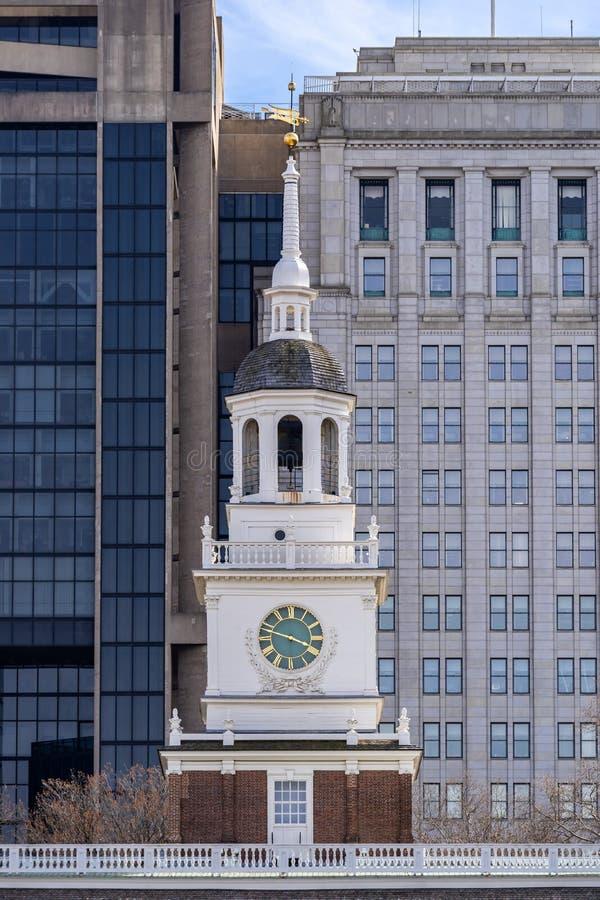 PA Etats-Unis de Hall Philadelphia de l'indépendance image libre de droits
