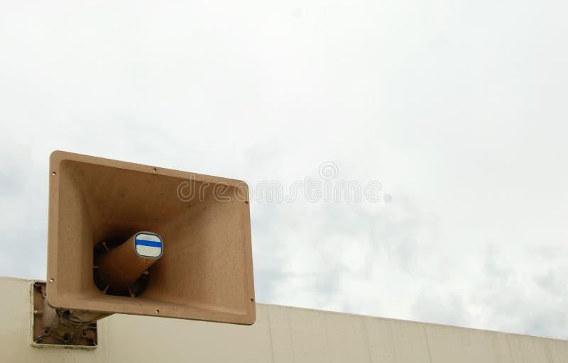 pa-högtalare arkivfoton