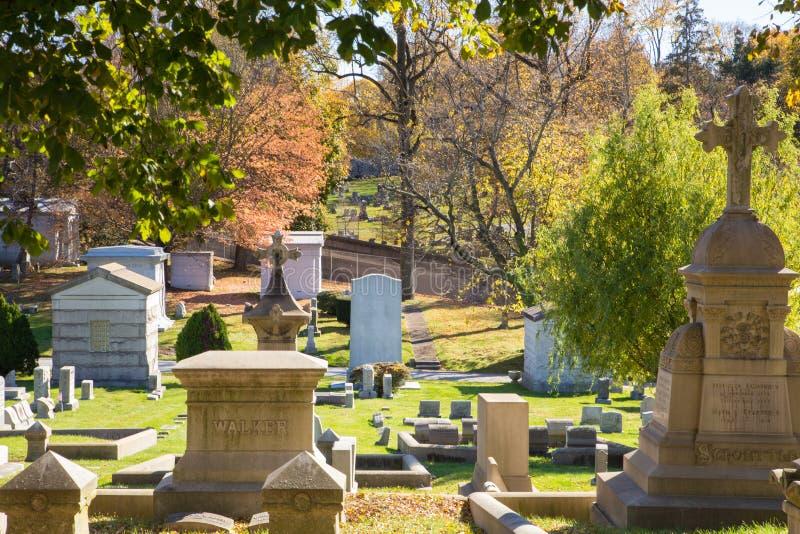 PA histórico de Laurel Hill Cemetery Philadelphia imagem de stock royalty free