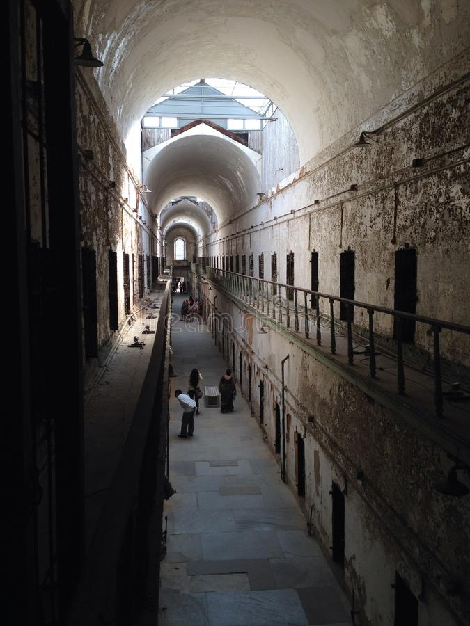PA history museum prison eastern state penitentiary royalty free stock photos