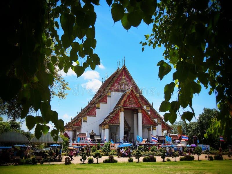 PA Lae Lai Temple, Tailandia fotografie stock libere da diritti