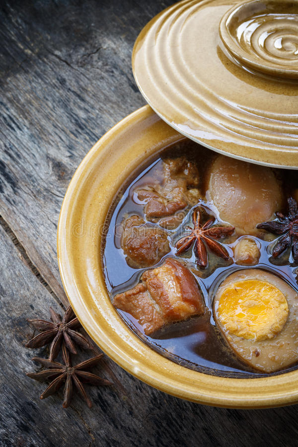 PA-loh de Kai, nourriture de la Thaïlande images stock