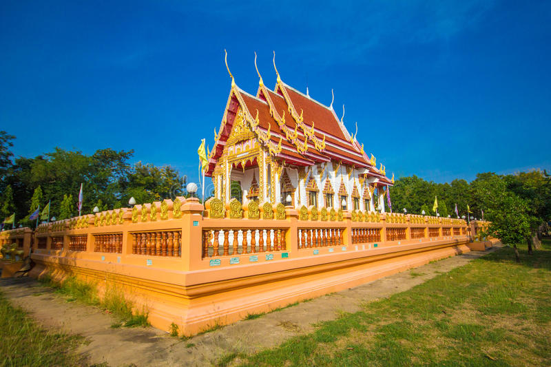 Pa nom wan temple. At thailand stock photography