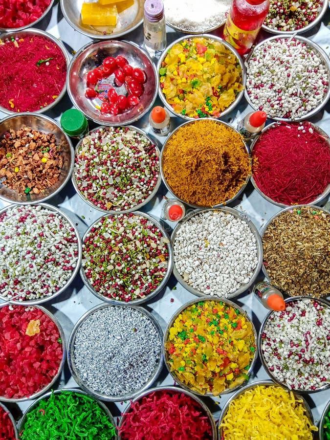 Paan Mashala, Munderfrischungsmittel für Betelblätter lizenzfreie stockfotografie