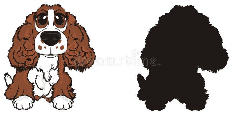 Paar Honden stock illustratie