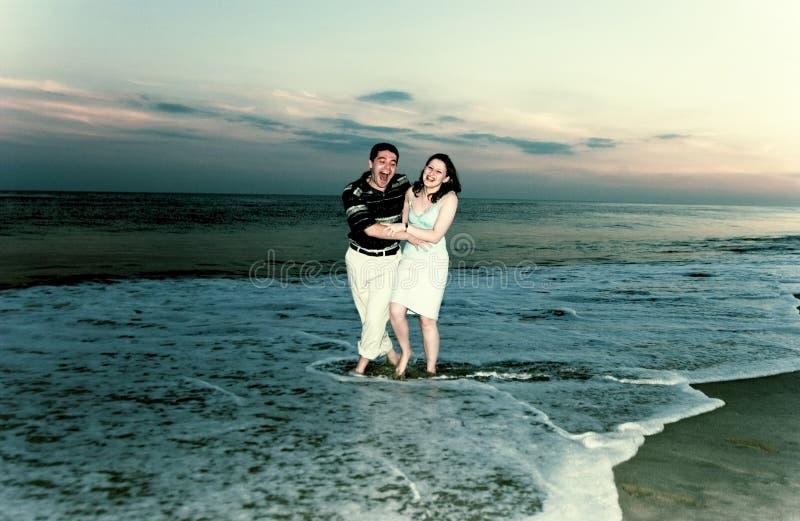 Paar in liefde stock afbeelding