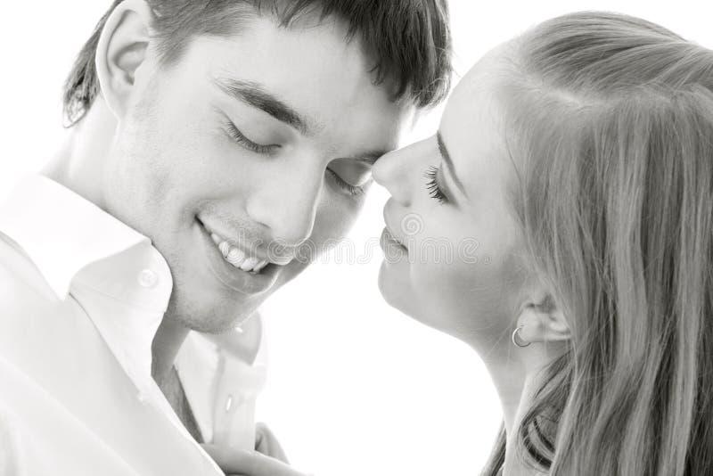 Paar in liefde royalty-vrije stock foto